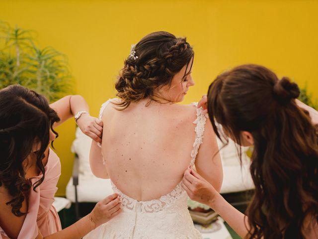 La boda de Servando y Teresa en Caracuel De Calatrava, Ciudad Real 43