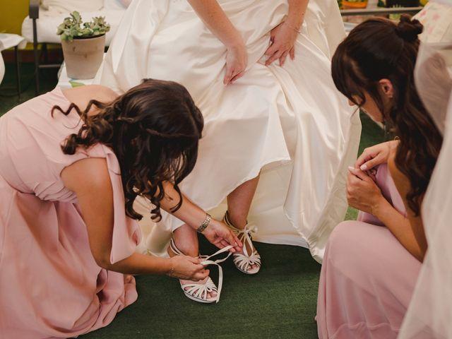 La boda de Servando y Teresa en Caracuel De Calatrava, Ciudad Real 45