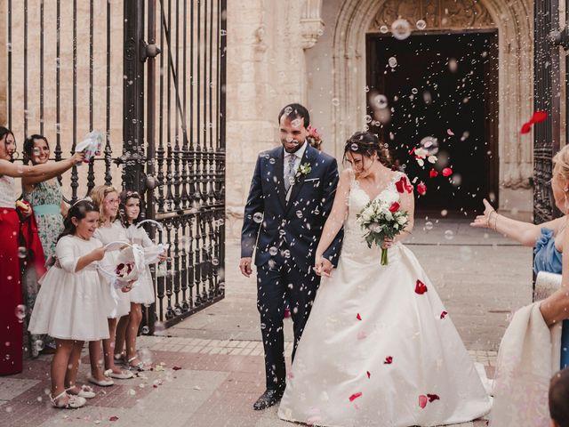 La boda de Servando y Teresa en Caracuel De Calatrava, Ciudad Real 81