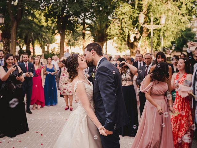 La boda de Servando y Teresa en Caracuel De Calatrava, Ciudad Real 86