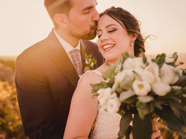 La boda de Servando y Teresa en Caracuel De Calatrava, Ciudad Real 91