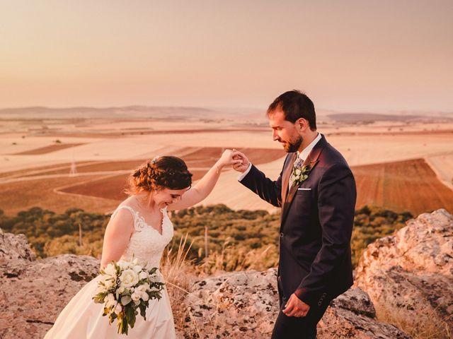 La boda de Servando y Teresa en Caracuel De Calatrava, Ciudad Real 105