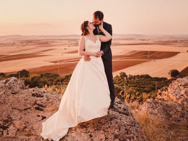 La boda de Servando y Teresa en Caracuel De Calatrava, Ciudad Real 108
