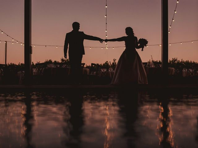 La boda de Servando y Teresa en Caracuel De Calatrava, Ciudad Real 112