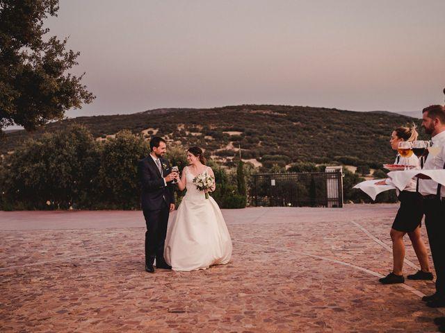 La boda de Servando y Teresa en Caracuel De Calatrava, Ciudad Real 115