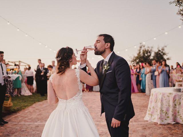 La boda de Servando y Teresa en Caracuel De Calatrava, Ciudad Real 116