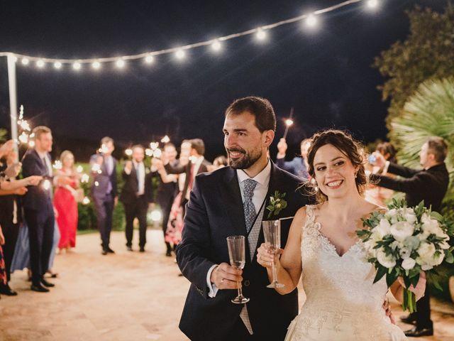 La boda de Servando y Teresa en Caracuel De Calatrava, Ciudad Real 133