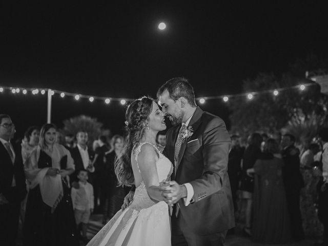 La boda de Servando y Teresa en Caracuel De Calatrava, Ciudad Real 153
