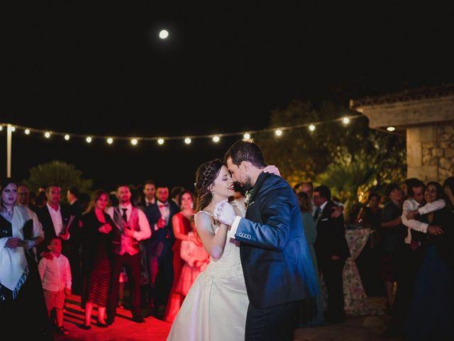 La boda de Servando y Teresa en Caracuel De Calatrava, Ciudad Real 154