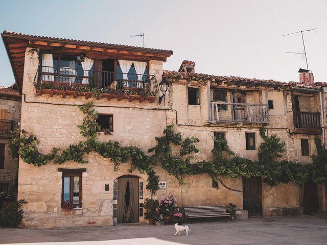 La boda de Alvaro y Marta en Santa Gadea Del Cid, Burgos 1