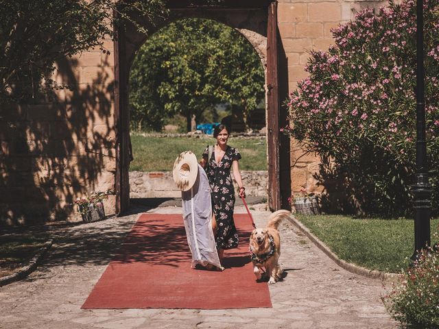 La boda de Alvaro y Marta en Santa Gadea Del Cid, Burgos 20