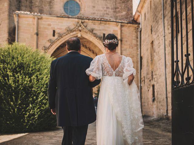 La boda de Alvaro y Marta en Santa Gadea Del Cid, Burgos 29