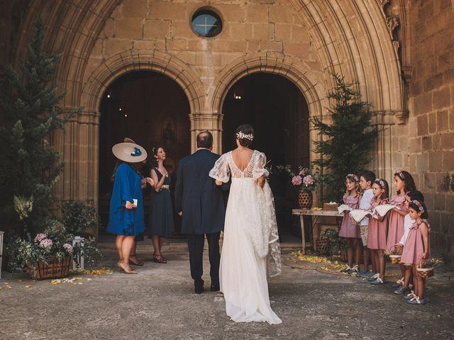 La boda de Alvaro y Marta en Santa Gadea Del Cid, Burgos 30