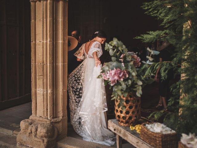 La boda de Alvaro y Marta en Santa Gadea Del Cid, Burgos 31