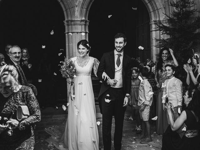 La boda de Alvaro y Marta en Santa Gadea Del Cid, Burgos 44