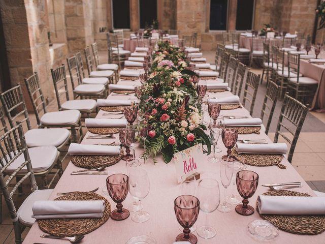 La boda de Alvaro y Marta en Santa Gadea Del Cid, Burgos 54