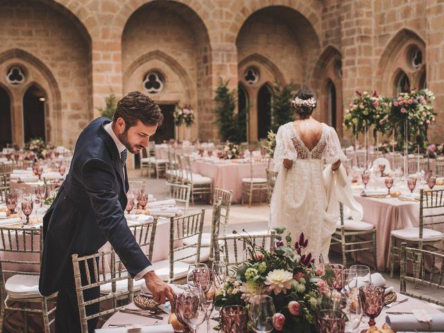 La boda de Alvaro y Marta en Santa Gadea Del Cid, Burgos 57