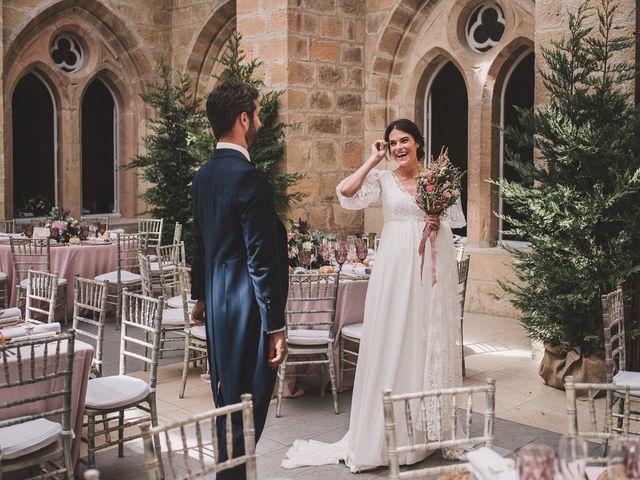 La boda de Alvaro y Marta en Santa Gadea Del Cid, Burgos 59