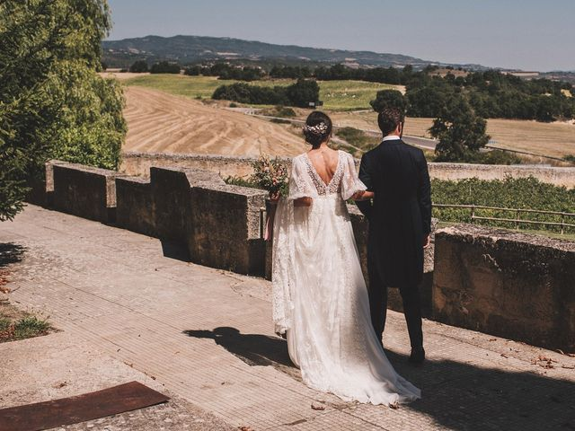La boda de Alvaro y Marta en Santa Gadea Del Cid, Burgos 61