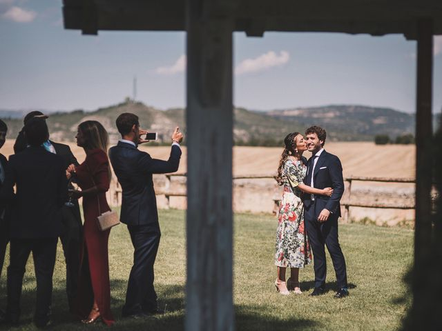 La boda de Alvaro y Marta en Santa Gadea Del Cid, Burgos 69