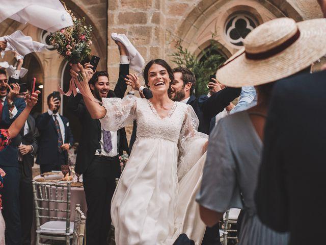 La boda de Alvaro y Marta en Santa Gadea Del Cid, Burgos 73