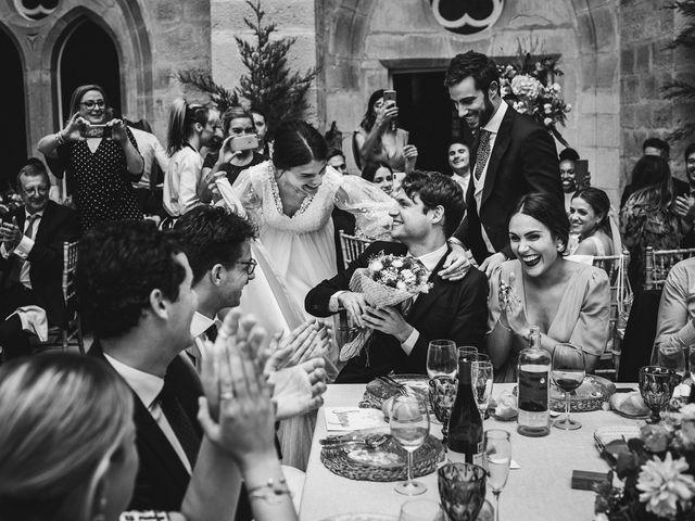 La boda de Alvaro y Marta en Santa Gadea Del Cid, Burgos 77