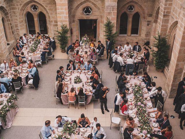 La boda de Alvaro y Marta en Santa Gadea Del Cid, Burgos 79