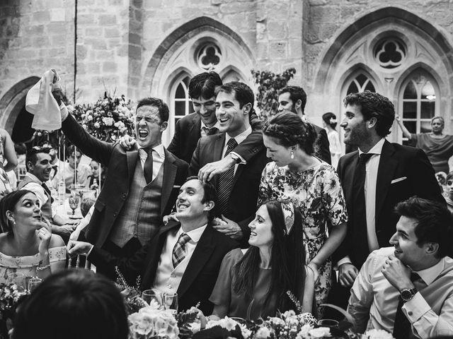 La boda de Alvaro y Marta en Santa Gadea Del Cid, Burgos 85