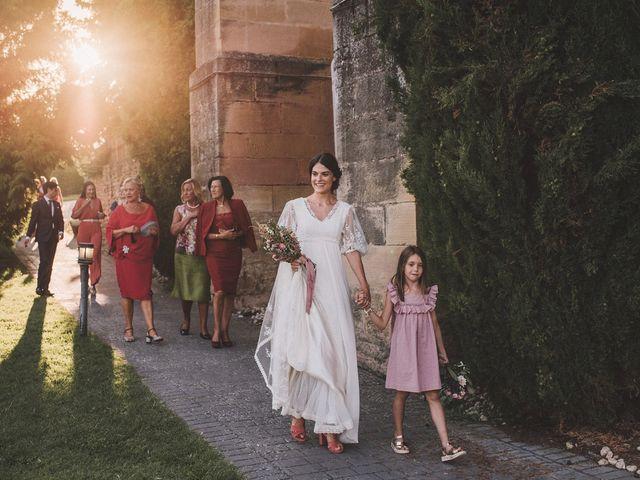 La boda de Alvaro y Marta en Santa Gadea Del Cid, Burgos 87