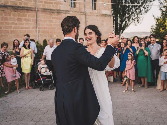 La boda de Alvaro y Marta en Santa Gadea Del Cid, Burgos 91
