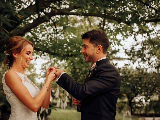 La boda de Asier y Saioa en Ventas De Armentia, Burgos 58