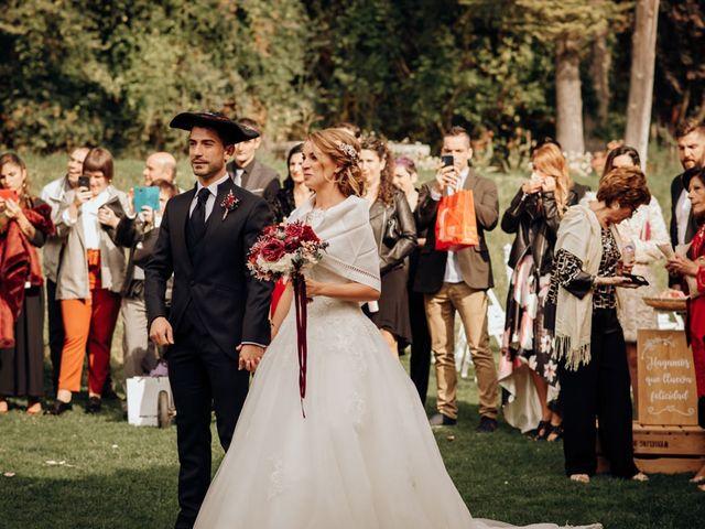 La boda de Asier y Saioa en Ventas De Armentia, Burgos 63