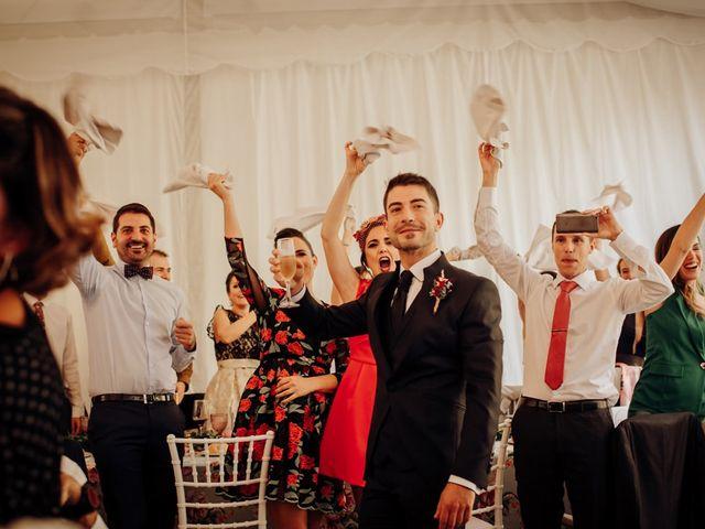 La boda de Asier y Saioa en Ventas De Armentia, Burgos 75