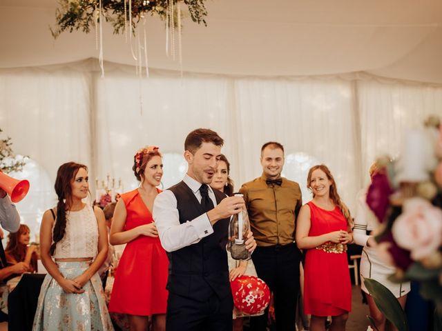 La boda de Asier y Saioa en Ventas De Armentia, Burgos 95
