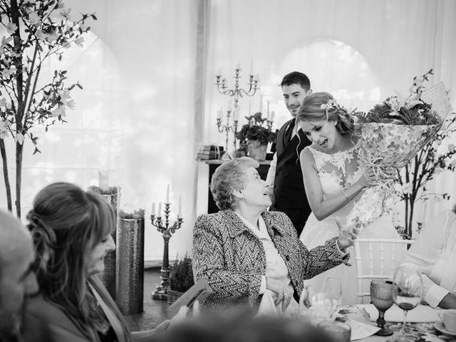 La boda de Asier y Saioa en Ventas De Armentia, Burgos 97
