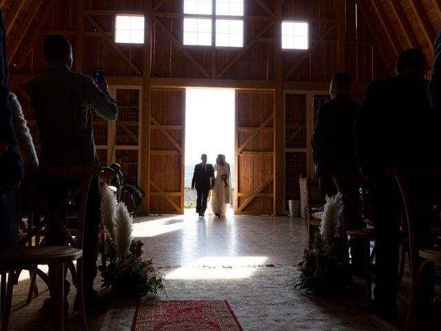 La boda de Jorge y Oiane en Santa Gadea Del Cid, Burgos 19