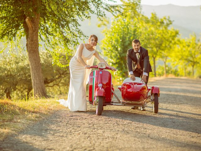 La boda de Jonathan y Ainhoa en Mombeltran, Ávila 40