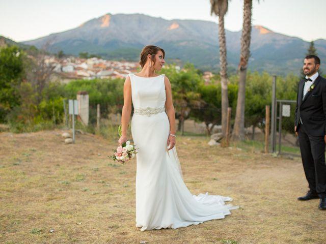 La boda de Jonathan y Ainhoa en Mombeltran, Ávila 48