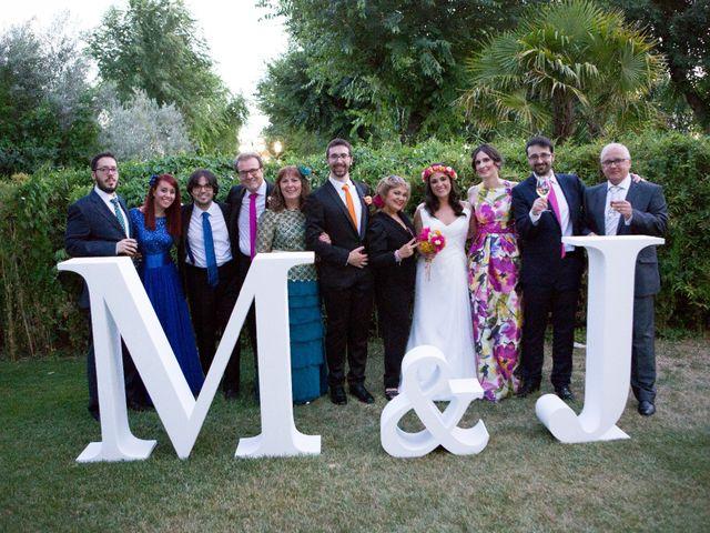 La boda de Marta y Jorge  en Madrid, Madrid 69