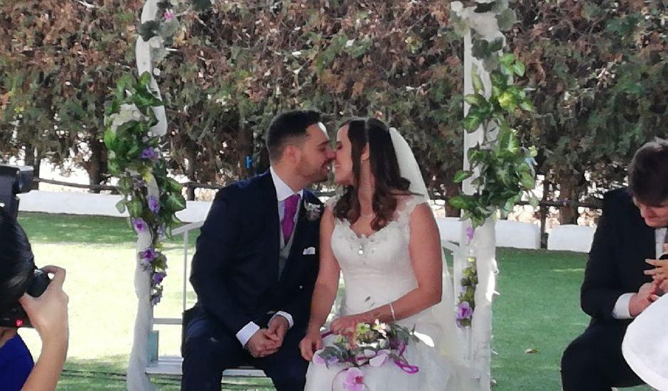 La boda de José David  y Elena  en La Algaba, Sevilla