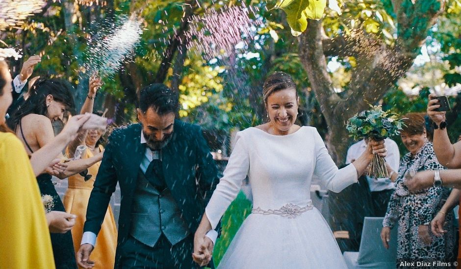 La boda de Manuel y Silvia en Chinchon, Madrid