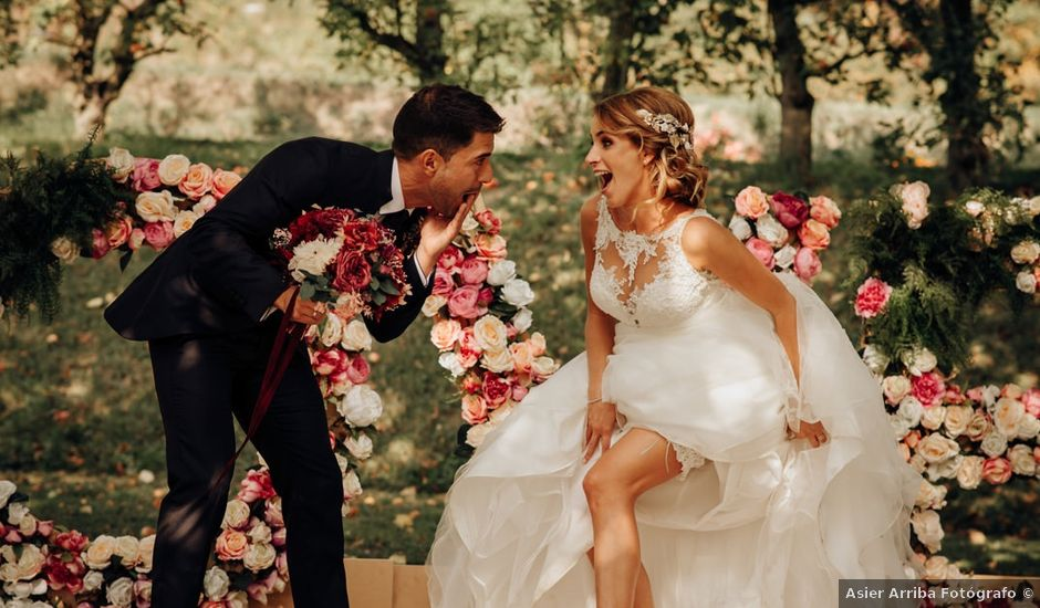 La boda de Asier y Saioa en Ventas De Armentia, Burgos