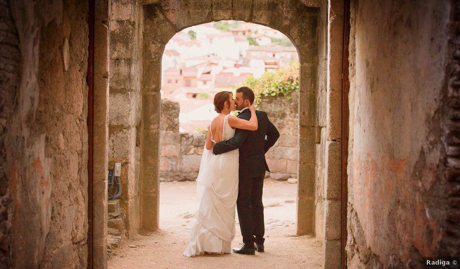 La boda de Jonathan y Ainhoa en Mombeltran, Ávila