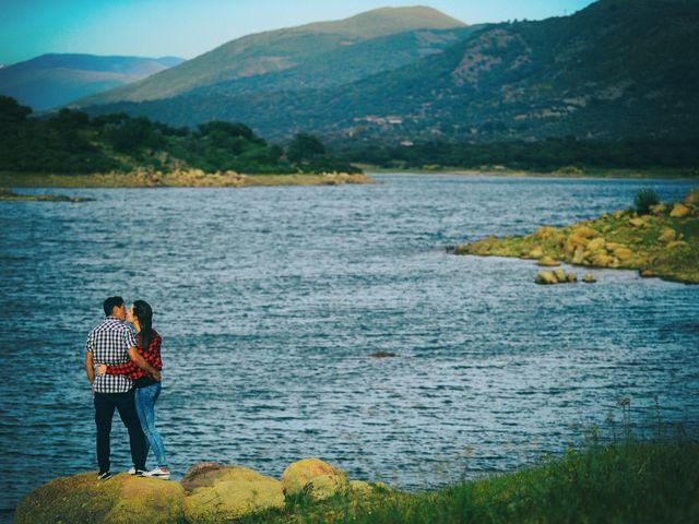 La boda de Feli y Santy en Piornal, Cáceres 7