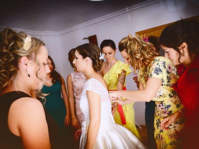 La boda de Feli y Santy en Piornal, Cáceres 16