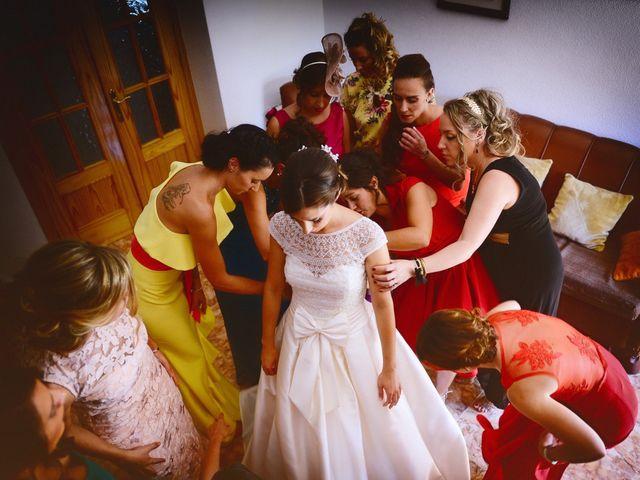 La boda de Feli y Santy en Piornal, Cáceres 20
