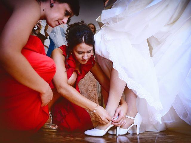 La boda de Feli y Santy en Piornal, Cáceres 25