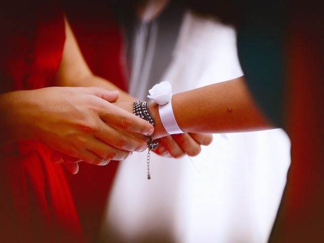 La boda de Feli y Santy en Piornal, Cáceres 30