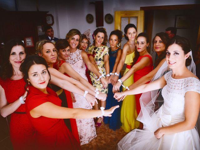 La boda de Feli y Santy en Piornal, Cáceres 31