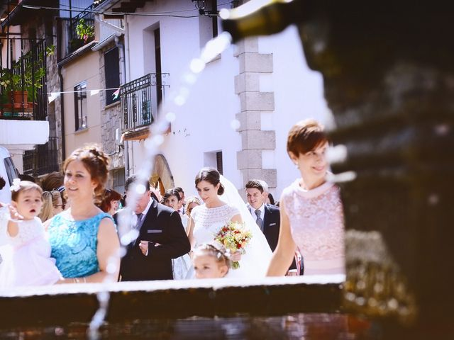 La boda de Feli y Santy en Piornal, Cáceres 34